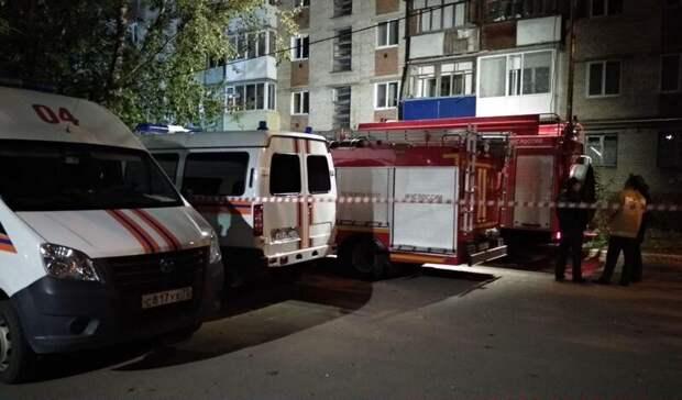 Два человека пострадали при взрыве газа в пятиэтажном доме в Тюмени