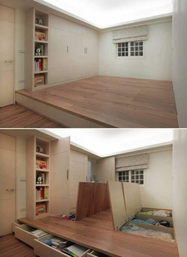 14 классных идей для экономии пространства в небольшой квартире