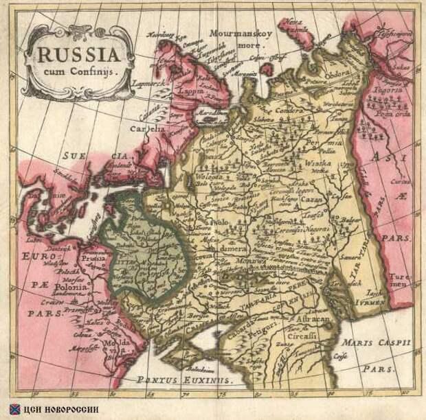 «Историческая бомба»: Украина на картах XV–XIX вв.