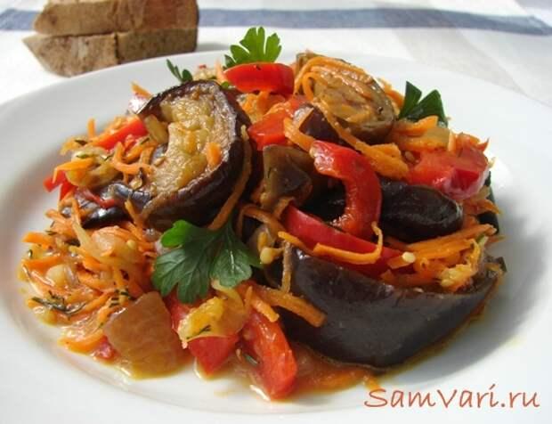 Простые и вкусные блюда из баклажанов