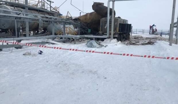 Взрыв прогремел нанефтепредприятии братьев Шаймиевых