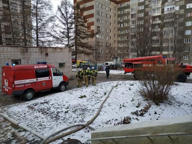 187 детей эвакуировали из детсада в Ижевске из-за возгорания
