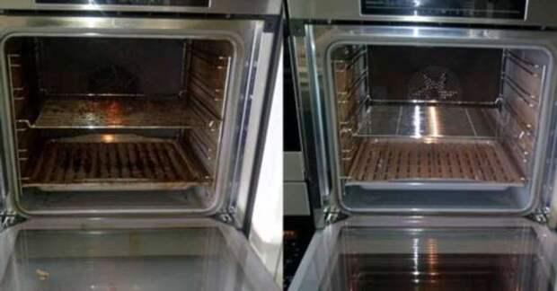Как отмыть духовку до блеска с помощью дешевого подручного средства