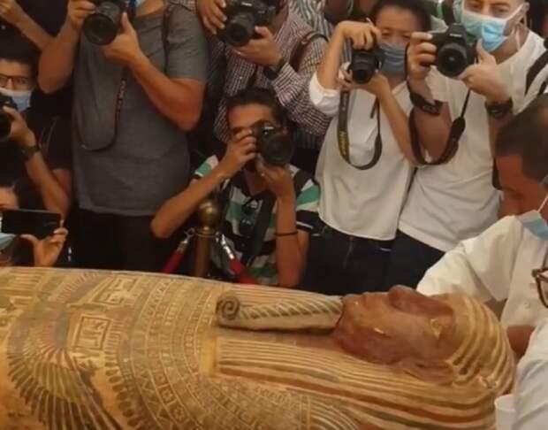 Египетские археологи открыли 2600-летний саркофаг