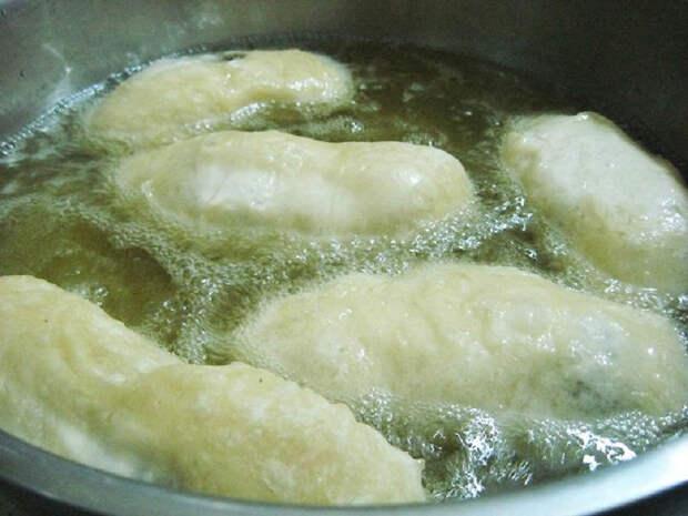 как приготовить жареные пирожки с ливером