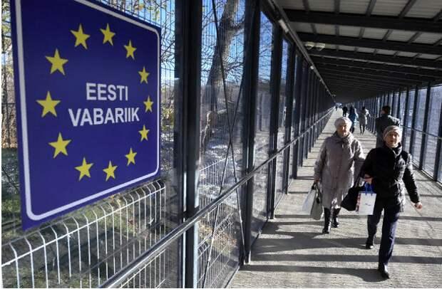 Погранукрепления Эстонии на границе с Россией сдуло ветром