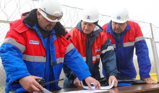 РИТЭК научениях ликвидировал разлив нефти наВолге