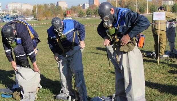 В Подольске определили лучшие нештатные аварийно‑спасательные формирования области
