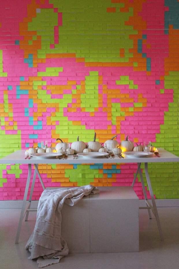 дизайн стены декор хеллолуин