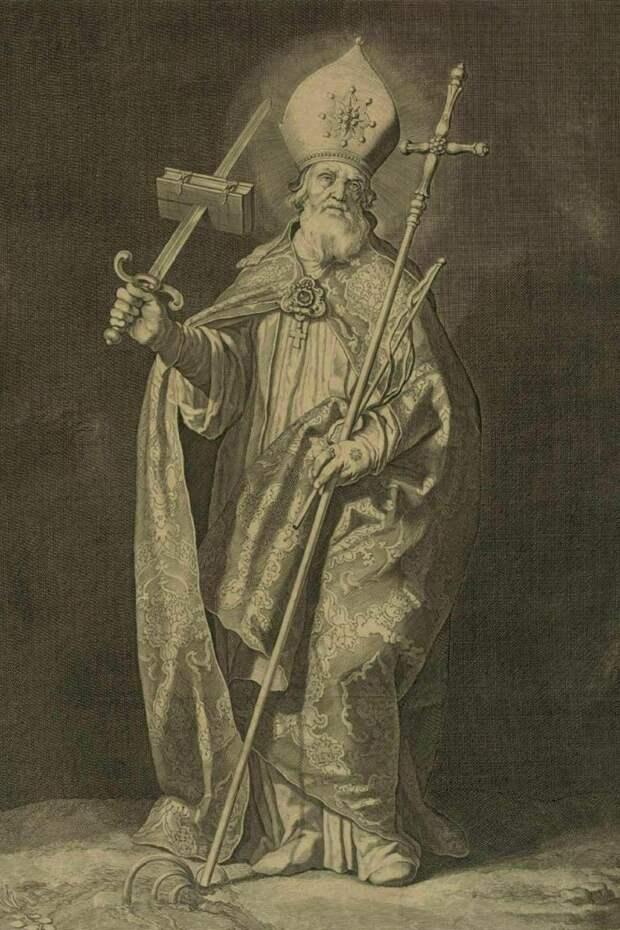 5 июня 754 года был убит святой Бонифаций