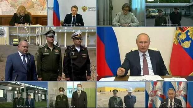 Путин разворачивает недовольство в народе, создаваемое пятой колонной, против неё самой