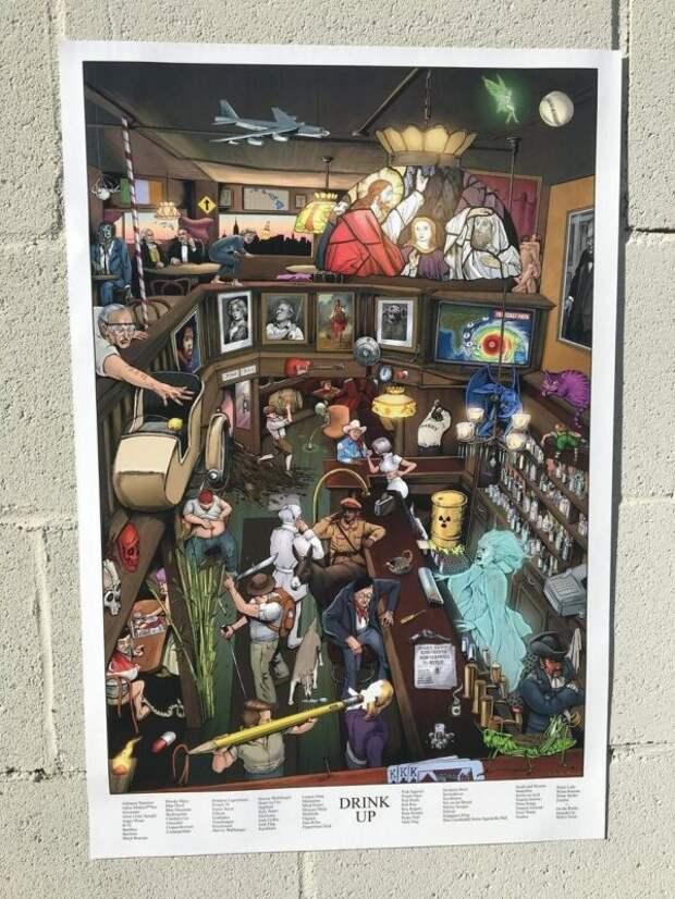 500 отсылок кпоп-культуре в5 постерах