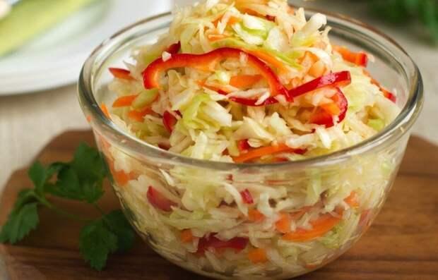 """На столе не пусто, если есть капуста: квасим по-новому или салат """"Осенний"""""""
