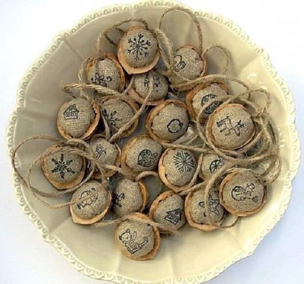 поделки из грецких орехов