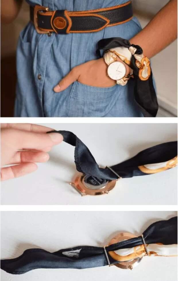 часы своими руками наручные ремонт ремешка