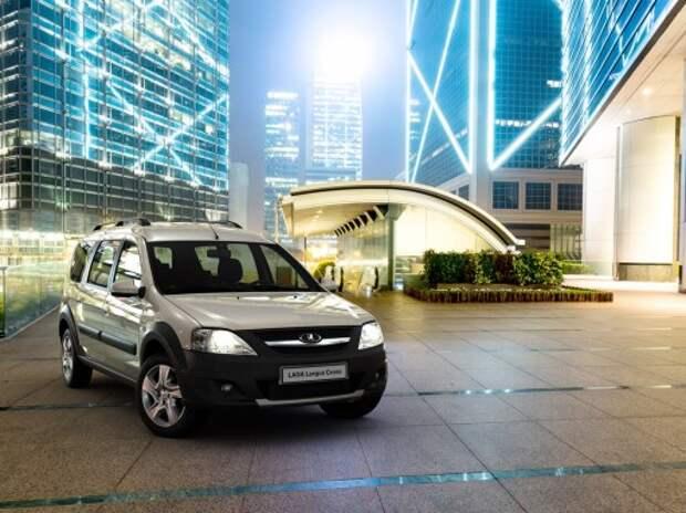 Производство Lada Largus Cross стартует в феврале