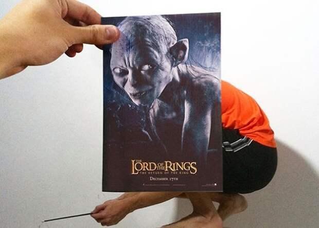 Дизайнер «смешивает» постеры знаменитых фильмов с реальной действительностью