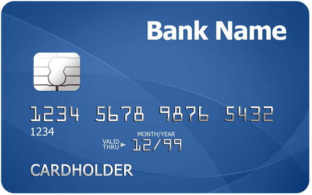 Что означают цифры на банковской карточке