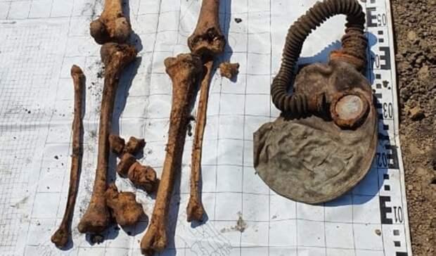 В Аксае найдены останки погибших в 1941 году участников обороны Ростова