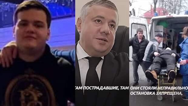 Директор Нахичеванского рынка вРостове заявил оневиновности сына втройном ДТП