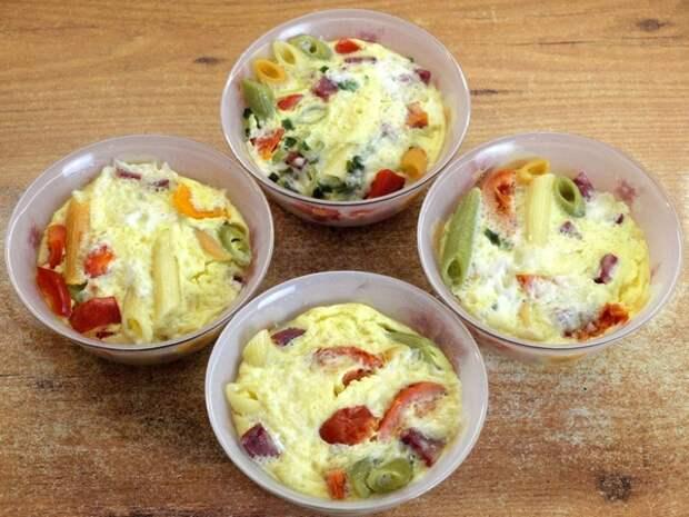 Омлет порционный диетический - видео рецепт для начинающих