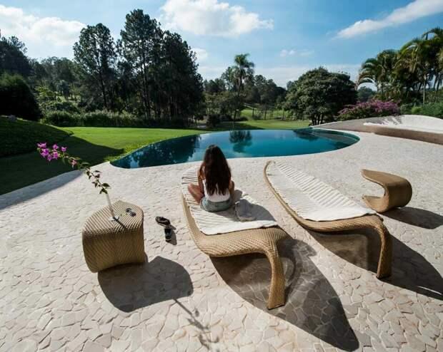 Дом амебы в Иту, Сан-Паулу, автор - Хавьер Сенозиан