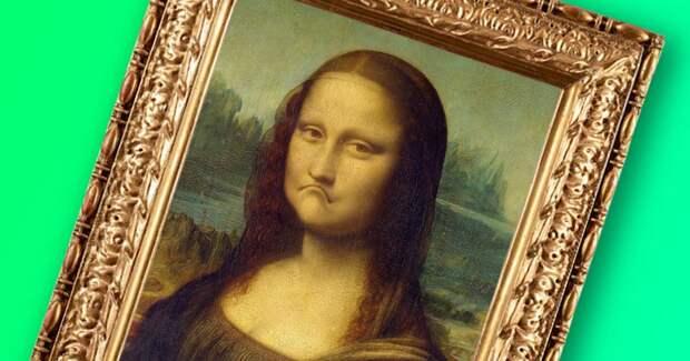   «Мона Лиза» была неизвестной, пока ее не украли