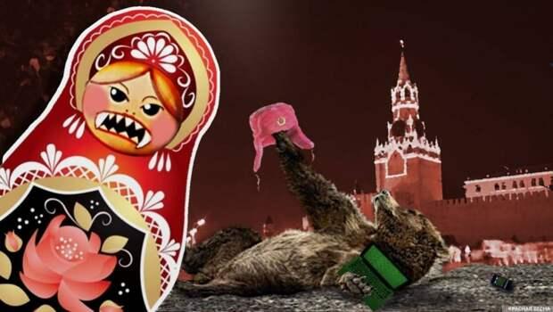 Результат русофобии везде одинаков — нищета и вымирание