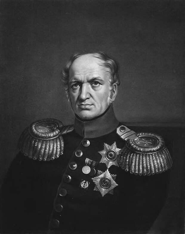 Генерал-интендант Е.Ф. Канкрин.