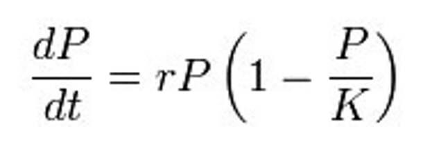 Уравнение популяционной динамики Ферхюльста