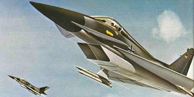 Проект истребителя отMesserschmitt-Bölkow-Blohm, изначально разработанного врамках программы TKF-90, апотом представленного дляECF