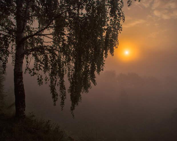 Огонек у тумане