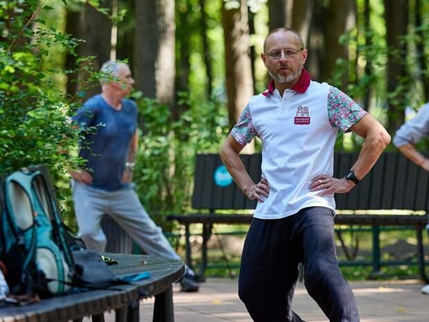 В столичных парках возобновились занятия в рамках проекта «Московское долголетие»