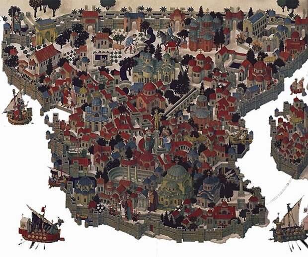 Завоевание турками Византии и Падение Константинополя