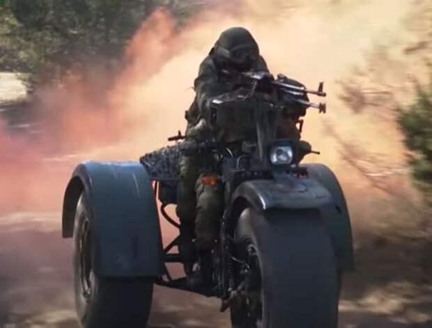 «Байк-убийца» - белорусский военный трицикл оценили в США