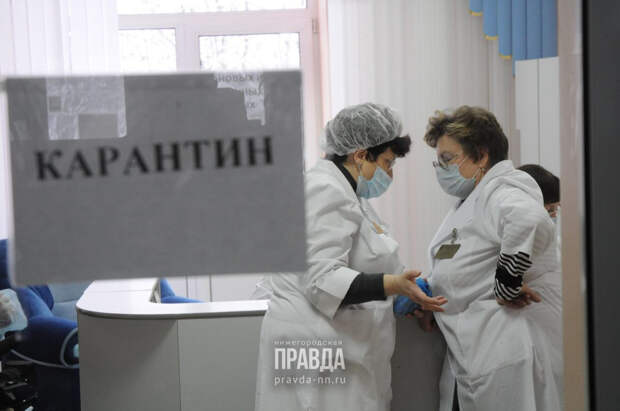 8 % школ и детских садов Нижегородкой области ушли на карантин