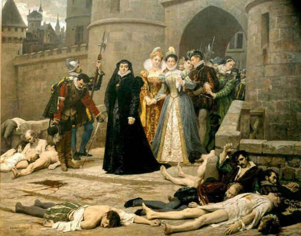24 августа 1572 года (446 лет) назад в Париже началась массовая расправа католиков с протестантами-гугенотами (Варфоломеевская ночь)