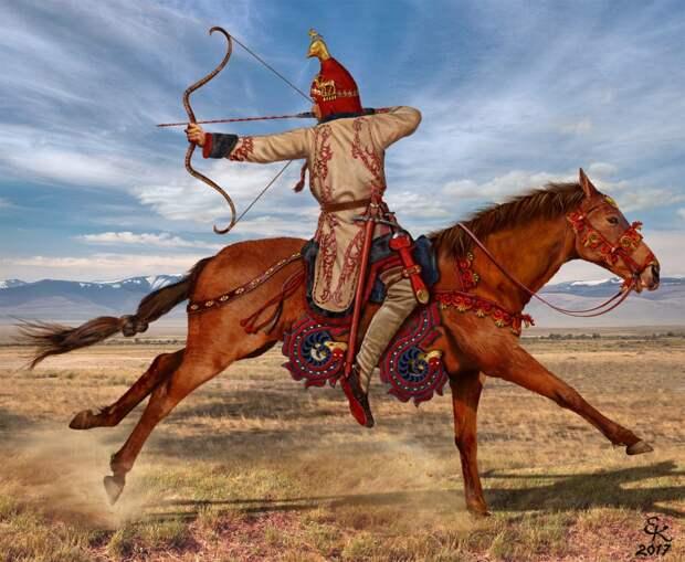 Воители скифо-сарматского мира
