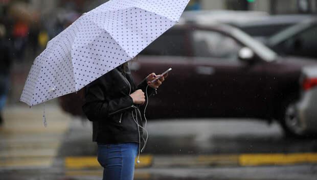 Дождь и облачная погода ожидаются в Мытищах в субботу