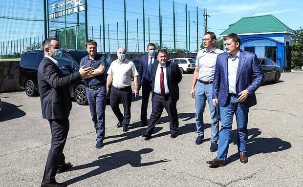 Адыгею с рабочим визитом посетил вице-спикер Совфеда