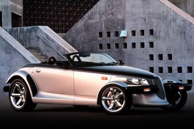 Plymouth Prowler авто, автодизайн, америка, бампер, безопасность, накладка, спорткар, суперкар