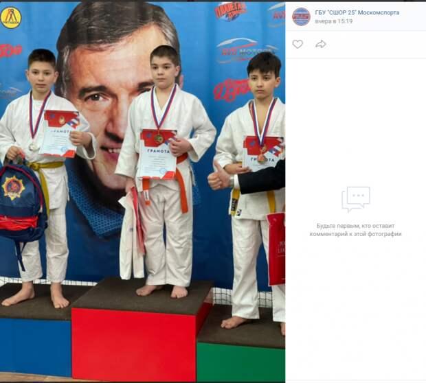 Дзюдоисты Савеловского завоевали гору наград на мемориальном турнире ЦСКА