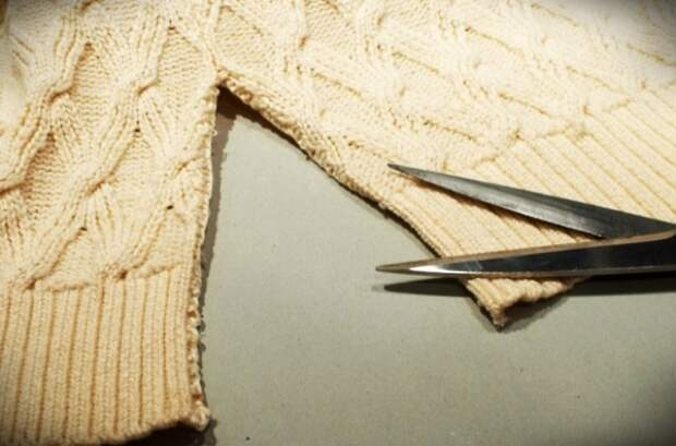 Можно ли отремонтировать вязаную вещь