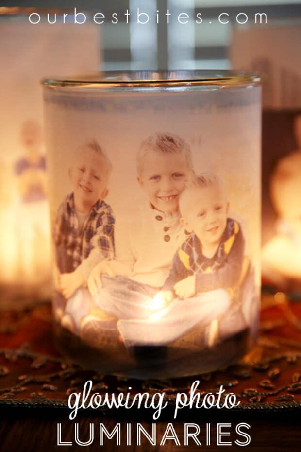 Легкая и доступная светящаяся семейная фотография Luminaries от наших лучших укусов