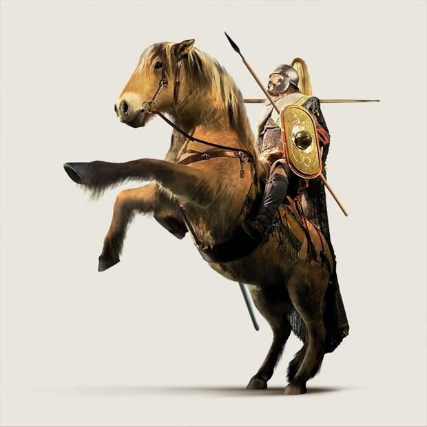 Экипировка античных воинов: батавский всадник
