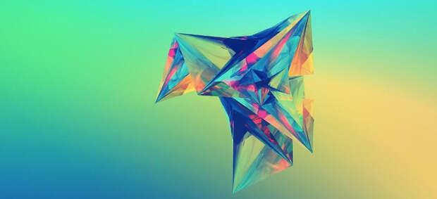 Визит летающего зеленого треугольника