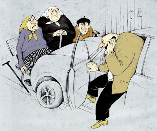 Старики за рулем: норма или источник повышенной опасности?