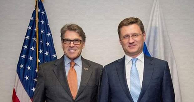 Министр энергетики США заявил, что не желает введения санкций против «Северного потока — 2»