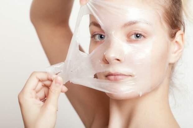 домашний пилинг для чувствительной кожи