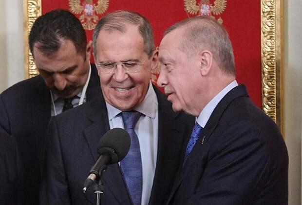 Турецкие СМИ переврали слова Лаврова о галстуке Эрдогана :: Новости :: ТВ  Центр